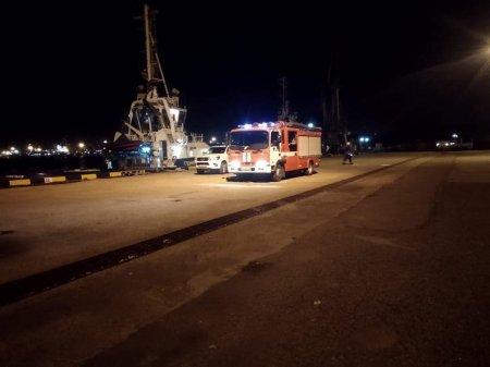 Управление СБУ провело учение в Южном порту