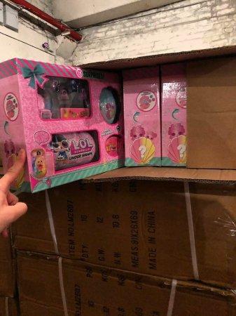 Детям из детдомов и семей воинов АТО передадут 23 тонны игрушек с таможни