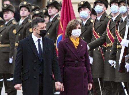 Лидер Молдовы Майя Санду прибыла в Украину